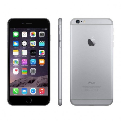 apple iphone 6 plus 128 gb grey space reconditioned diamond