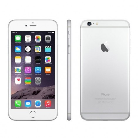 apple iphone 6 plus 64gb silver refurbished diamond