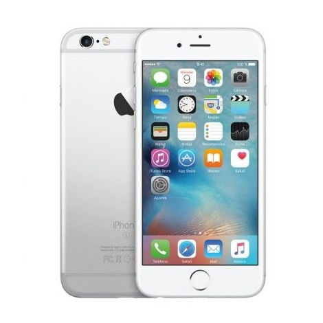 Apple iPhone 6S 128GB-Silver (Refurbished Like New)