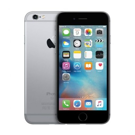 apple iphone 6s plus 16gb grey space reconditioned diamond
