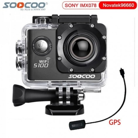 camera ultra hd 4k soocoo s100 wifi gps
