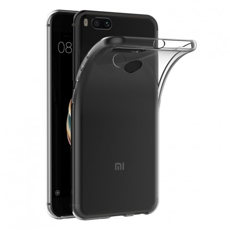 case cover for xiaomi mi a1 5x transparent silicone