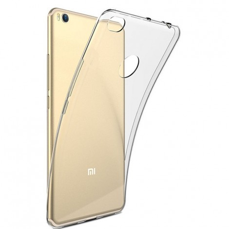 case cover for xiaomi mi max 2 transparent silicone
