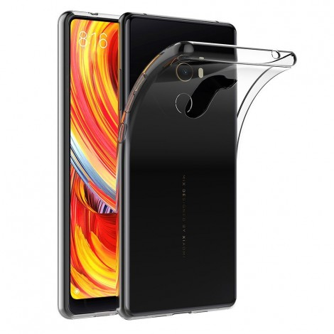 case cover for xiaomi mi mix 2 transparent silicone