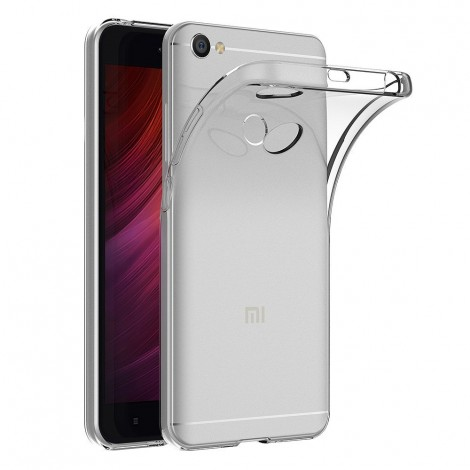 case cover for xiaomi redmi note 5a transparent silicone