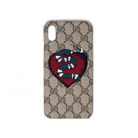 cover for iphone x max xs max pr gucci heart