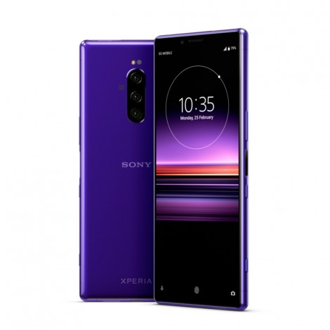 sony xperia 1 6gb 128gb purple