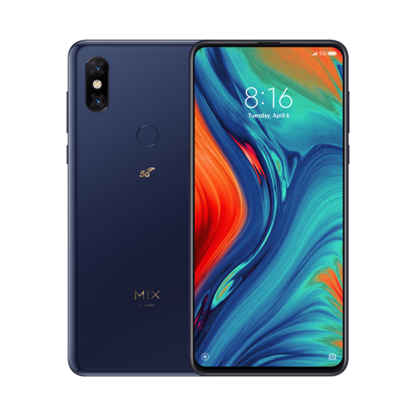 xiaomi mi mix 3 5g 6gb 64gb blue