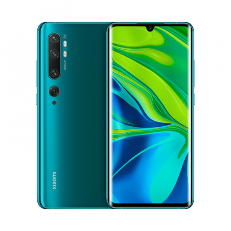 xiaomi mi note 10 6gb128gb green