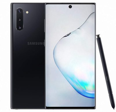 Samsung Galaxy Note 10 Plus black