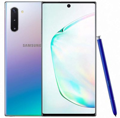 Samsung Galaxy Note 10 Plus glow