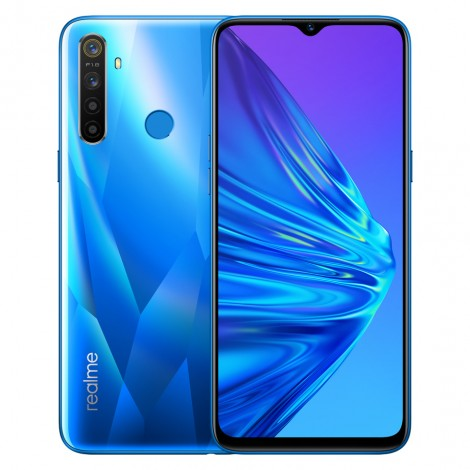 realme 5 4gb 128gb blue