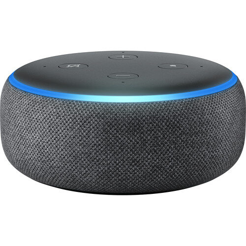Amazon Echo Dot Smart Speaker 3rd Generation Charcoal