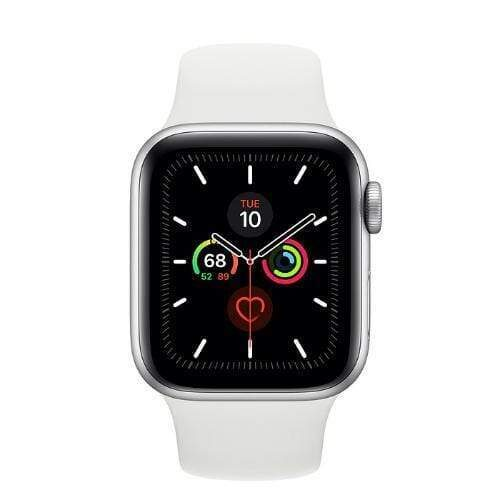 Apple Watch Series 5 White silver