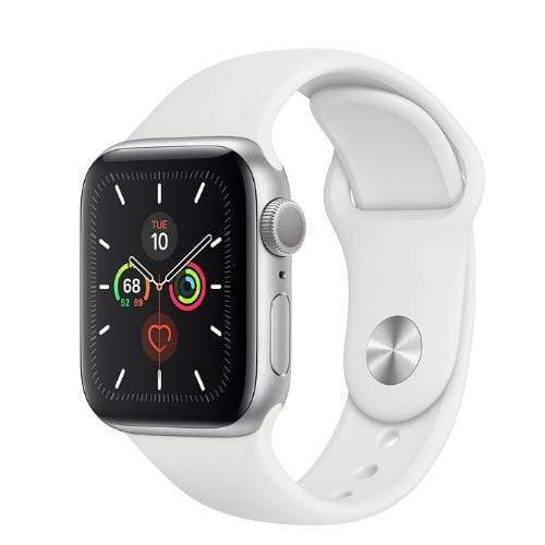 Apple Watch Series 5 White silver1
