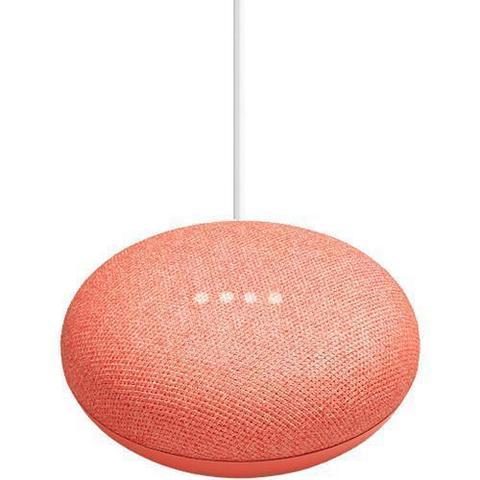 Google Home Mini Smart Speaker coral