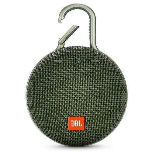 JBL Clip 3 Portable Bluetooth Speaker green