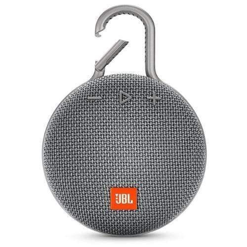 JBL Clip 3 Portable Bluetooth Speaker grey
