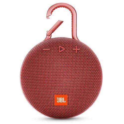 JBL Clip 3 Portable Bluetooth Speaker red