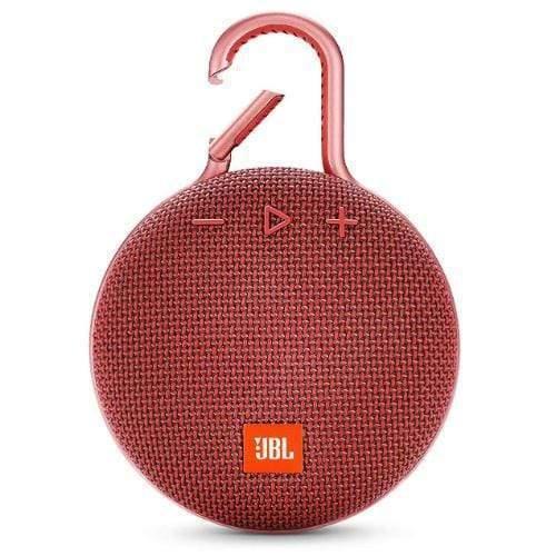 JBL Clip 3 Portable Bluetooth Speaker red