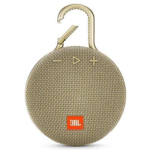 JBL Clip 3 Portable Bluetooth Speaker sand