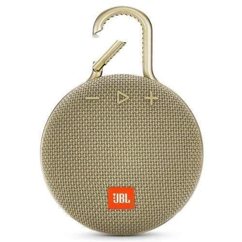 JBL Clip 3 Portable Bluetooth Speaker sand