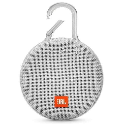 JBL Clip 3 Portable Bluetooth Speaker white