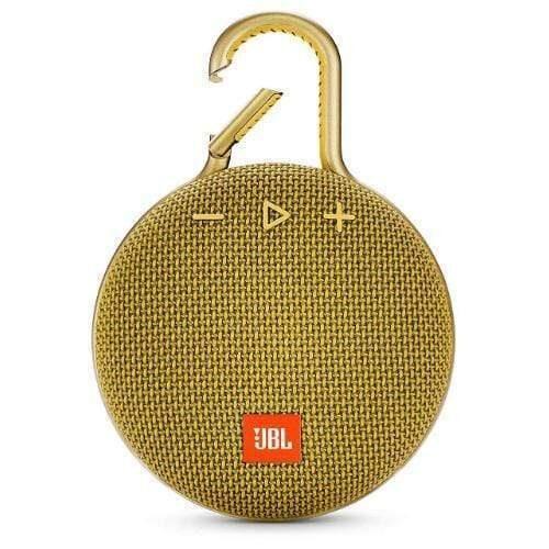 JBL Clip 3 Portable Bluetooth Speaker yellow