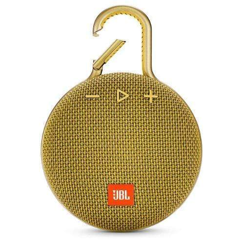 JBL Clip 3 Portable Bluetooth Speaker yellow