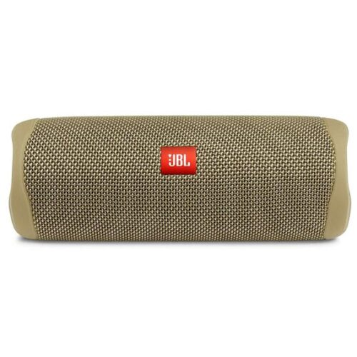 JBL Flip 5 Portable Bluetooth Speaker sand