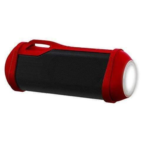 Monster SuperStar Firecracker Portable Bluetooth Speaker with LED Light red