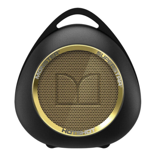 Monster SuperStar HotShot Portable Bluetooth Speaker Gold