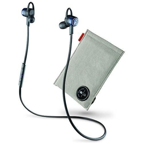 Plantronics BackBeat Go 3 Wireless Bluetooth In Ear Headset With Charging Case Blue
