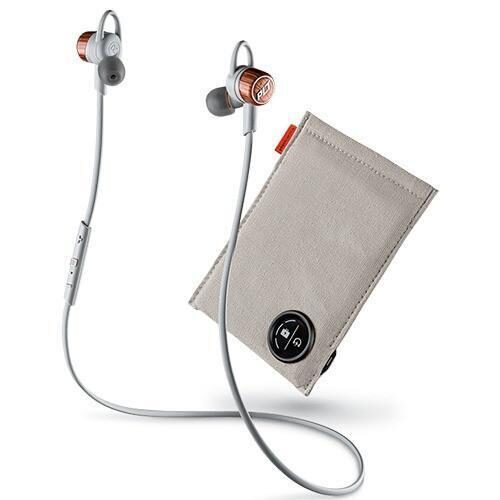 Plantronics BackBeat Go 3 Wireless Bluetooth In Ear Headset With Charging Case copper