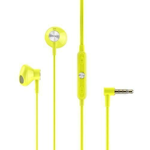 Sony STH30 In Ear Headphones Clearance Stock yellow