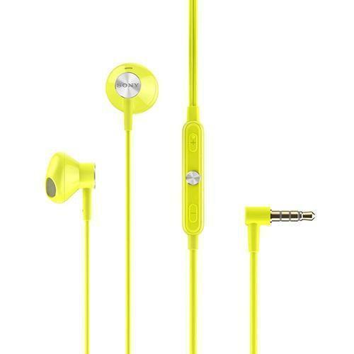 Sony STH30 In Ear Headphones Clearance Stock yellow