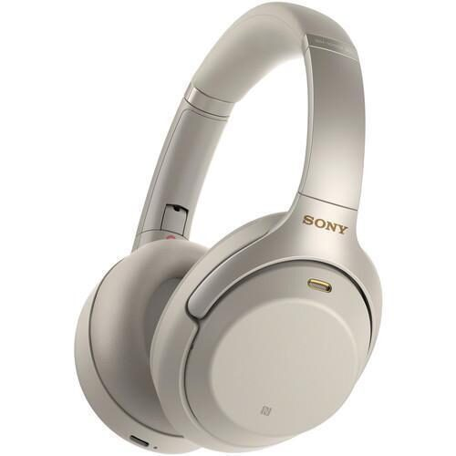 Sony WH 1000XM3 Noise Cancelling Wireless Headphones silver