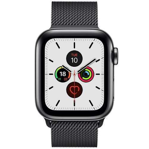 apple series 5 space black