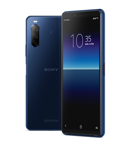Sony Xperia 10 II 3 Berry Blue
