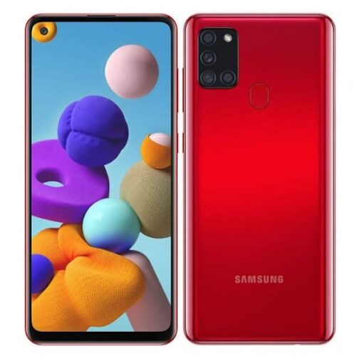 Samsung Galaxy A21S Red 1