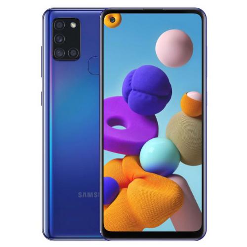 Samsung Galaxy A21s Blue 1