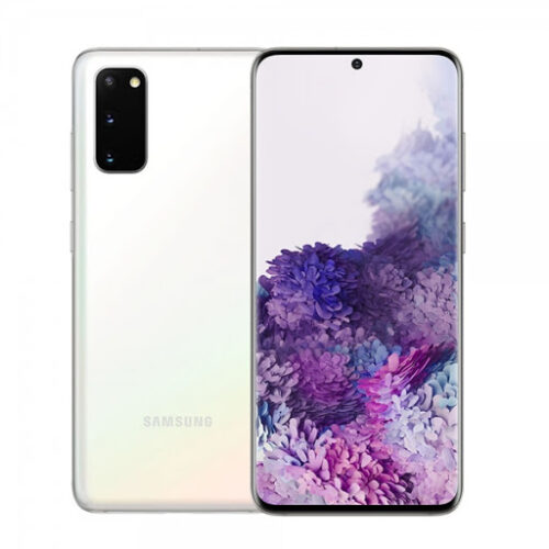 Samsung Galaxy S20 plus white