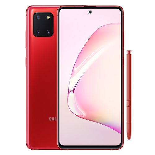 samsung galaxy note 10 lite 128gb red